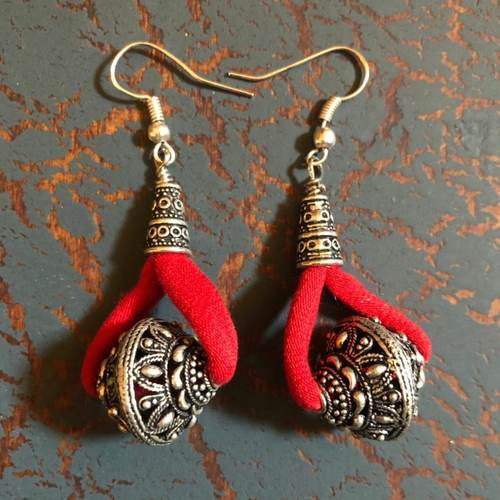 Fiery Fun Earrings - Small