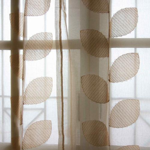 Curtain - Applique on Kota Doria