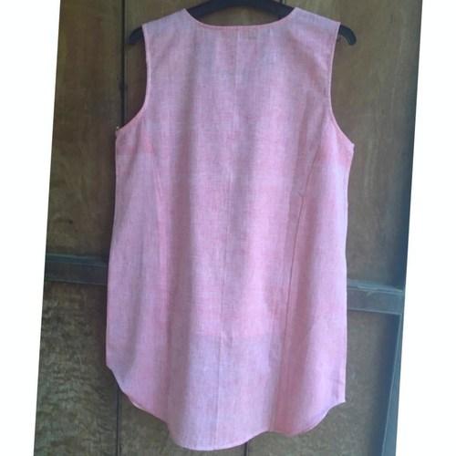 Pink Short Long Top
