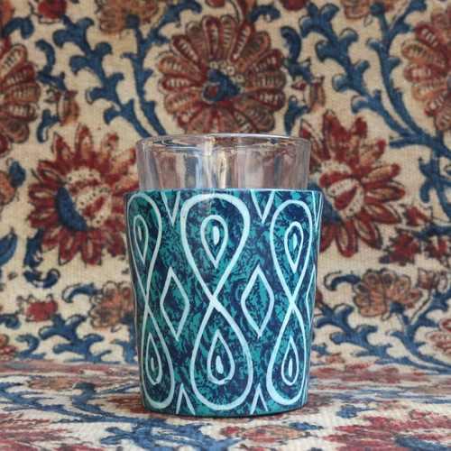 Ocean Mystery Chai Glass
