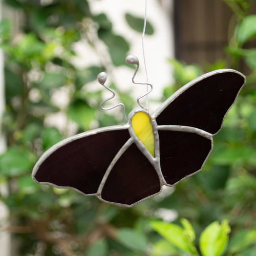Black Beauty Sun Catcher - Butterfly