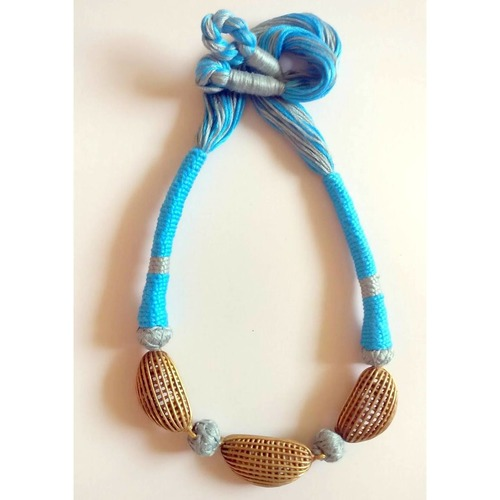 Bright Blue Necklace