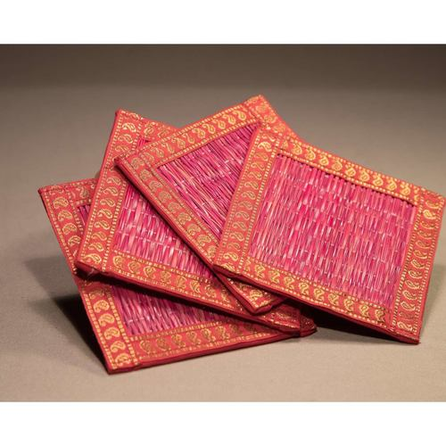 Pink And Zari Coasters