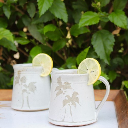 Tropical Twist Mug - White