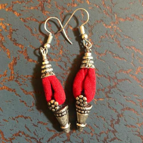 Fiery Fierce Earrings