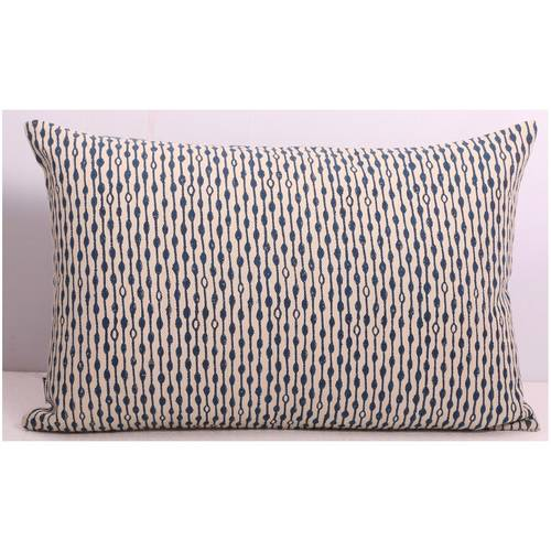 Indigo Diamond - Rectangular Cushion Cover