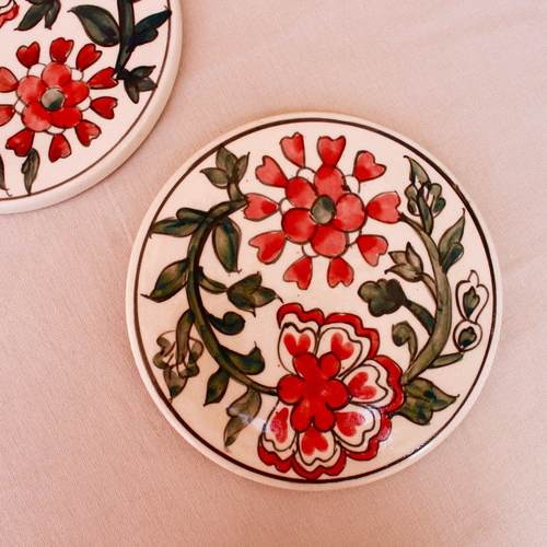 Ceramic Trivet - Red