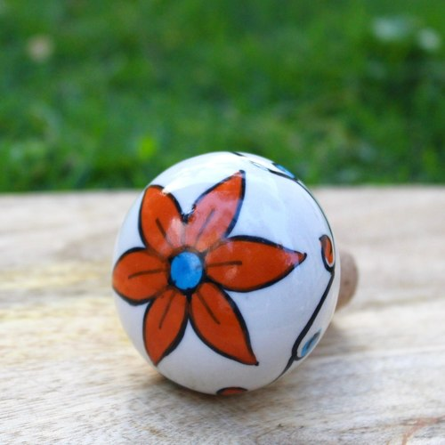 Orange Flower Stopper