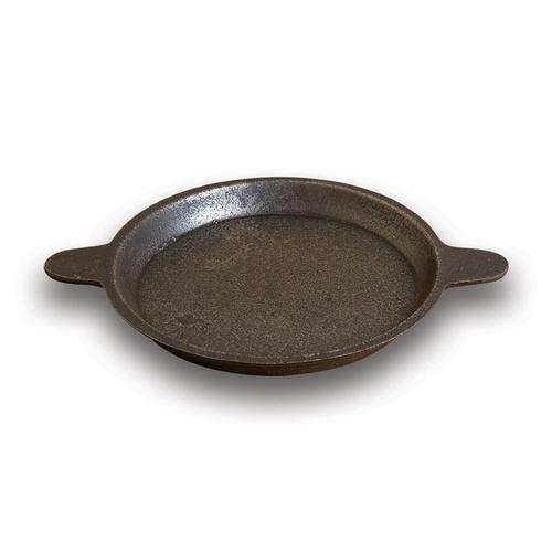 "Raised Edge Baking Pan 7"" - Cast Iron"