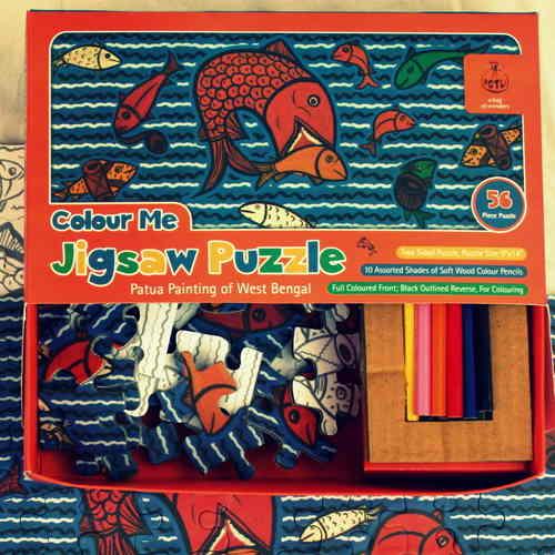 Colour Me Jigsaw Puzzle - Patua