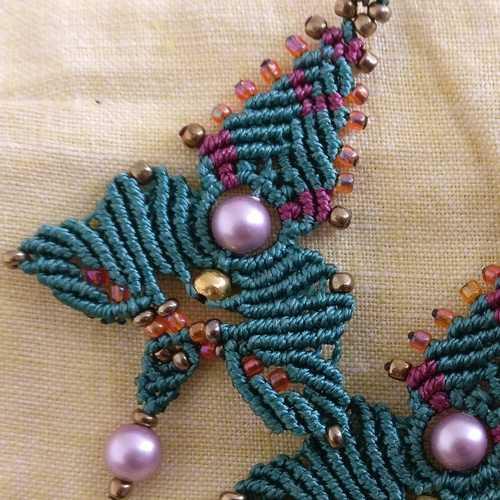 Earrings - Sundari Beads and Knots