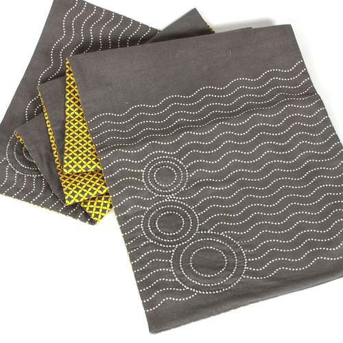 Grey Sequinned Reversible Runner