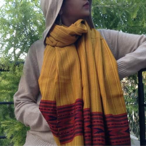 Mustard Yellow Woollen Scarf