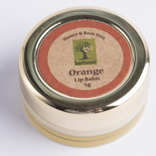 Orange Beeswax Lip Balm
