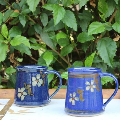 Blossom Blue Mug
