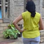 Tender Stripe Sleeveless Shirt