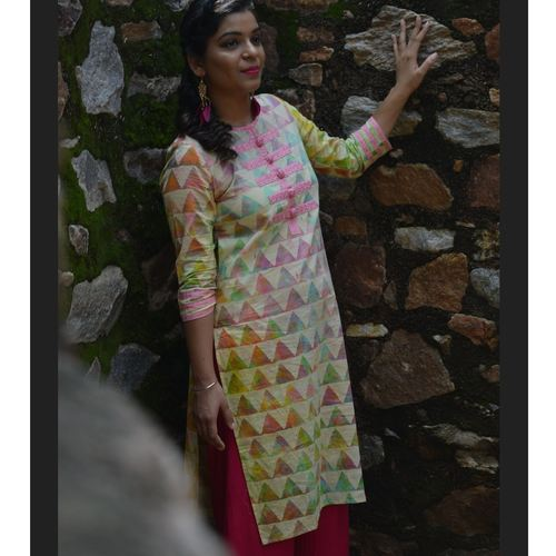 Colours of Iridescence Kurta