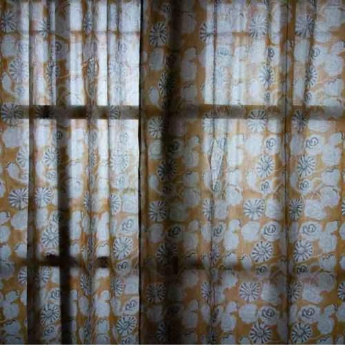 Curtain - Hand Block Printed