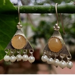 Yellow Aventurine Earrings