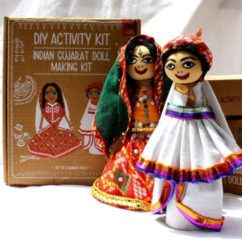 Gujarati Doll Making Kit - DIY
