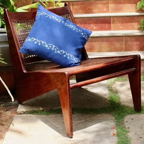 Midnight Blue Cushion Cover - Taj Series