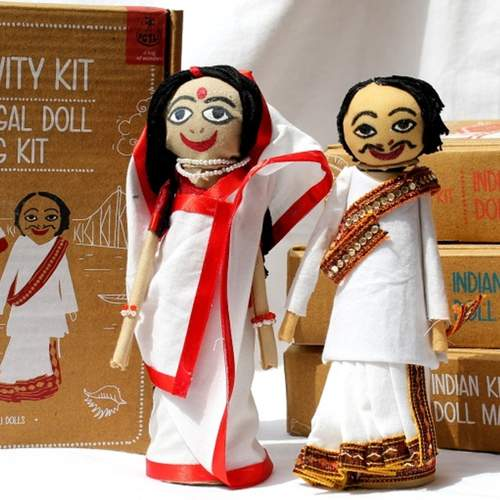Bengali Doll Making Kit - DIY