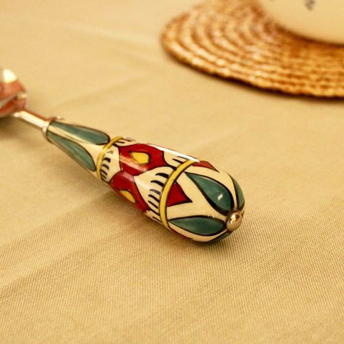 Diamond Red Serving Spoon