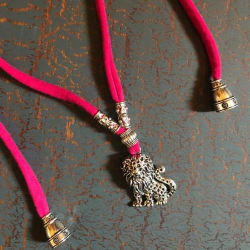 Lion Pendant Neckpiece