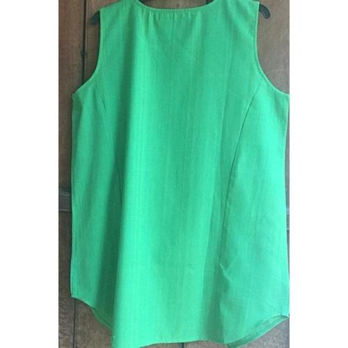 Moss Green Short Long Top