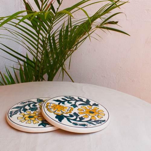 Ceramic Trivet - Yellow