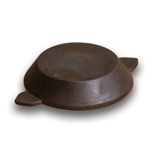 Flat Bottom Paniyaram Pan - Cast Iron