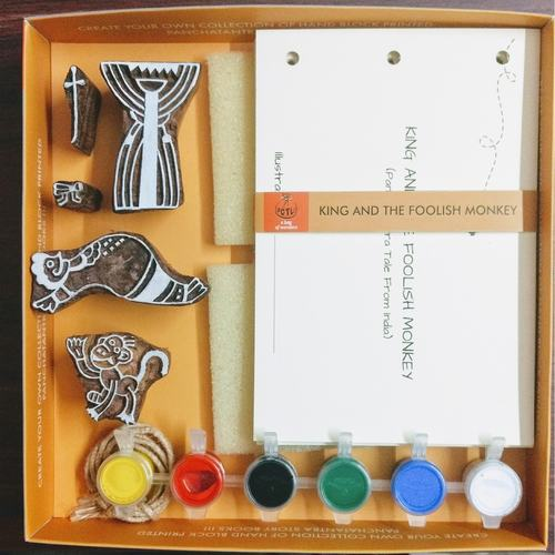 The King & The Foolish Monkey Storybook Kit