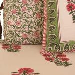 Pink Floret Bedsheet Set