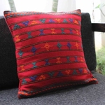 Kutchi Red Cushion Cover