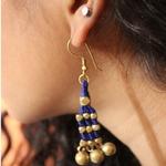 Dhokra Jewellery Danglers