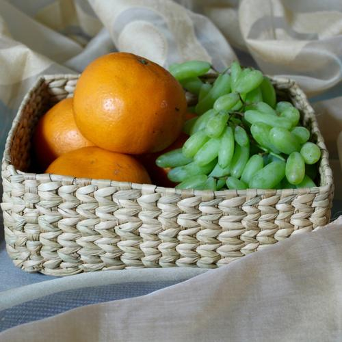 Kauna Grass - Fruit Basket