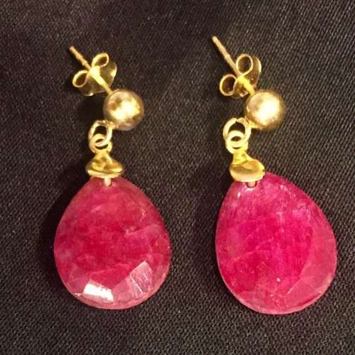 Wink Away Ruby Quartz Drops