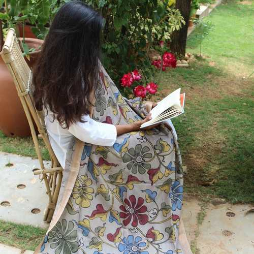 Dupatta Kalamkari - The Bold and The Beautiful