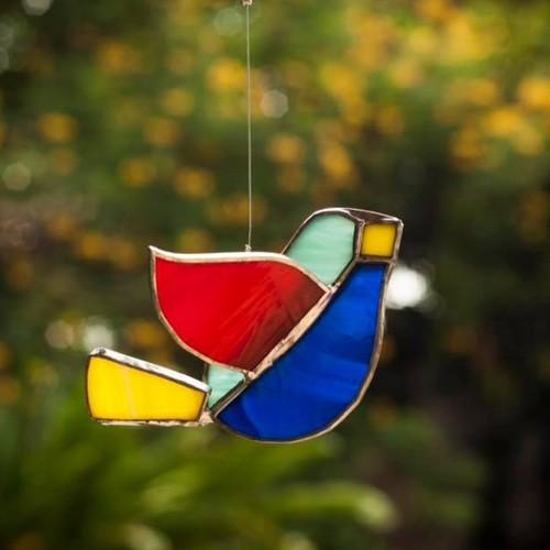 Turquoise Sun-Catcher Birdie