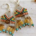 Earrings - Avani Beads and Knots