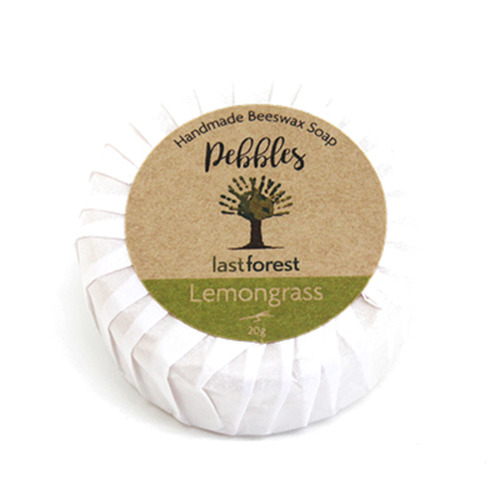 Lemongrass Beeswax Soap Pebble