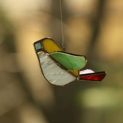Yellow Sun-Catcher Birdie