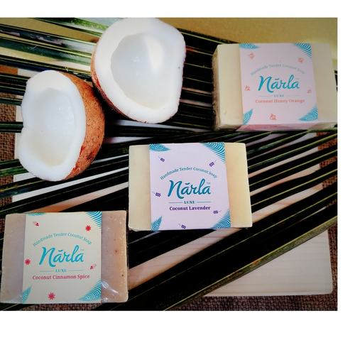 Tender Coconut Handmade Soap