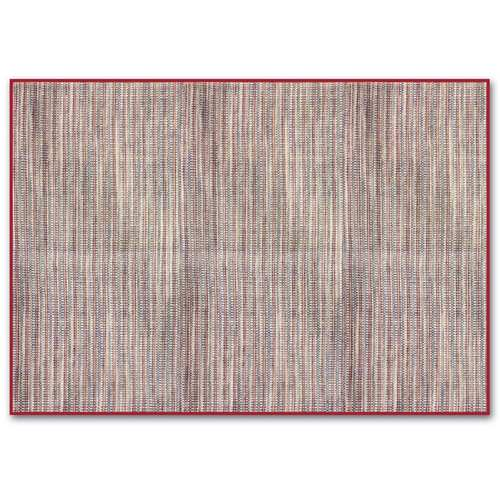 Maroon woven table mats