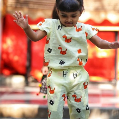 Samp - Seedhi Jumpsuit - Girls