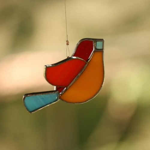 Red Sun-Catcher Birdie