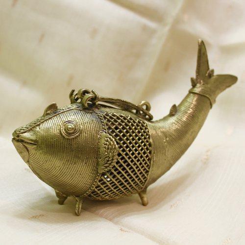 Jhali Fish Coin Box