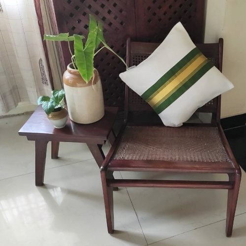 Emerald Kasavu Cushion Cover