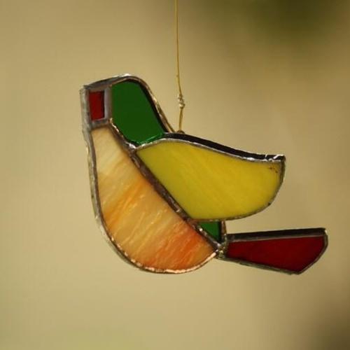 Green Sun-Catcher Birdie