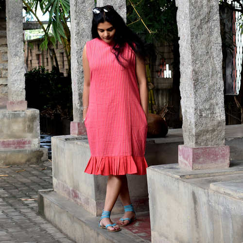 Pleated Hem Tunic